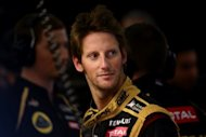 Lotus driver Romain Grosjean, seen here in August 2012, admitted that he made &quot;a stupid mistake&quot; in Japan, where Mark Webber branded him &quot;a first-lap nutcase&quot;, but said that it was time to move on
