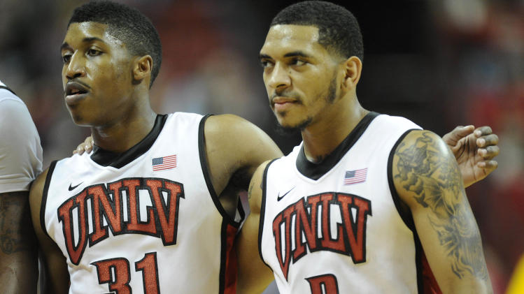 NCAA Basketball: Wyoming at UNLV