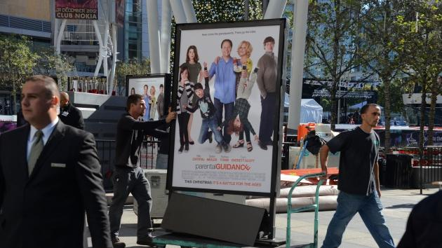 Twentieth Century Fox and Walden Media cancel screening of 'Parental Guidance' in respect for the victims of the Connecticut shooting at LA Live on December 15, 2012 in Los Angeles -- Getty Images