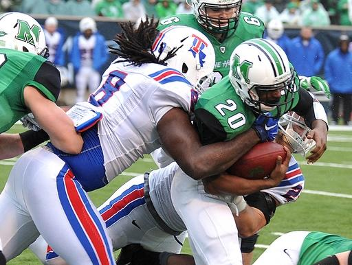 Marshall RB Steward Butler charged in beating of 2 gay men
