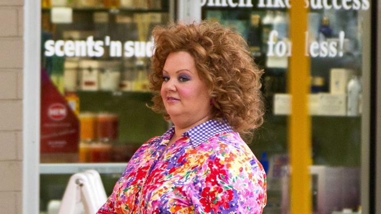 Melissa McCarthy Spotted on set