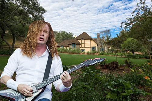 Megadeth Guitarist Dave Mustaine Selling Quaint English Country Mansion in Rural SoCal