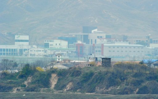 "<p>A North Korean guard post stands in front of the closed Seoul-funded industrial complex in Kaesong north of the border on April 23, 2013. South Korea has offered North Korea formal talks to resolve the suspended operations at their joint Kaesong industrial zone, and warned of ""grave action"" if Pyongyang declines.</p>"