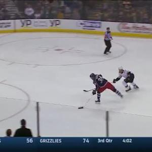 Niklas Svedberg Save on Boone Jenner (04:27/OT)