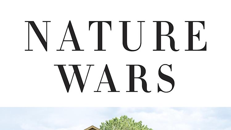 "This book cover image released by Crown shows ""Nature Wars: The Incredible Story of How Wildlife Comebacks Turned Backyards into Battlegrounds,"" by Jim Sterba. (AP Photo/Crown)"
