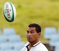 File photo of Auckland Blues coach Pat Lam. New Zealand rugby chiefs on Thursday condemned &quot;lowlife&quot; racial abuse aimed at Lam after the team&#39;s worst-ever start to a Super Rugby season
