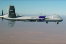 A Predator drone, used by the U.S. Customs and Border Protection service to try to stop drug smugglers.