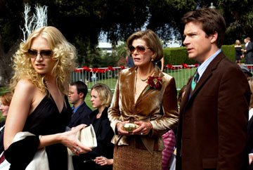 Portia De Rossi, Jessica Walter and Jason Bateman Fox's Arrested Development