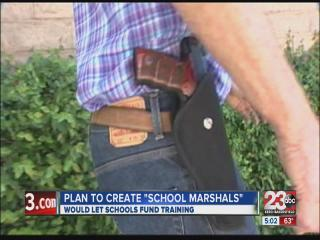 """AB202 would allow for """"school marshals"""""""