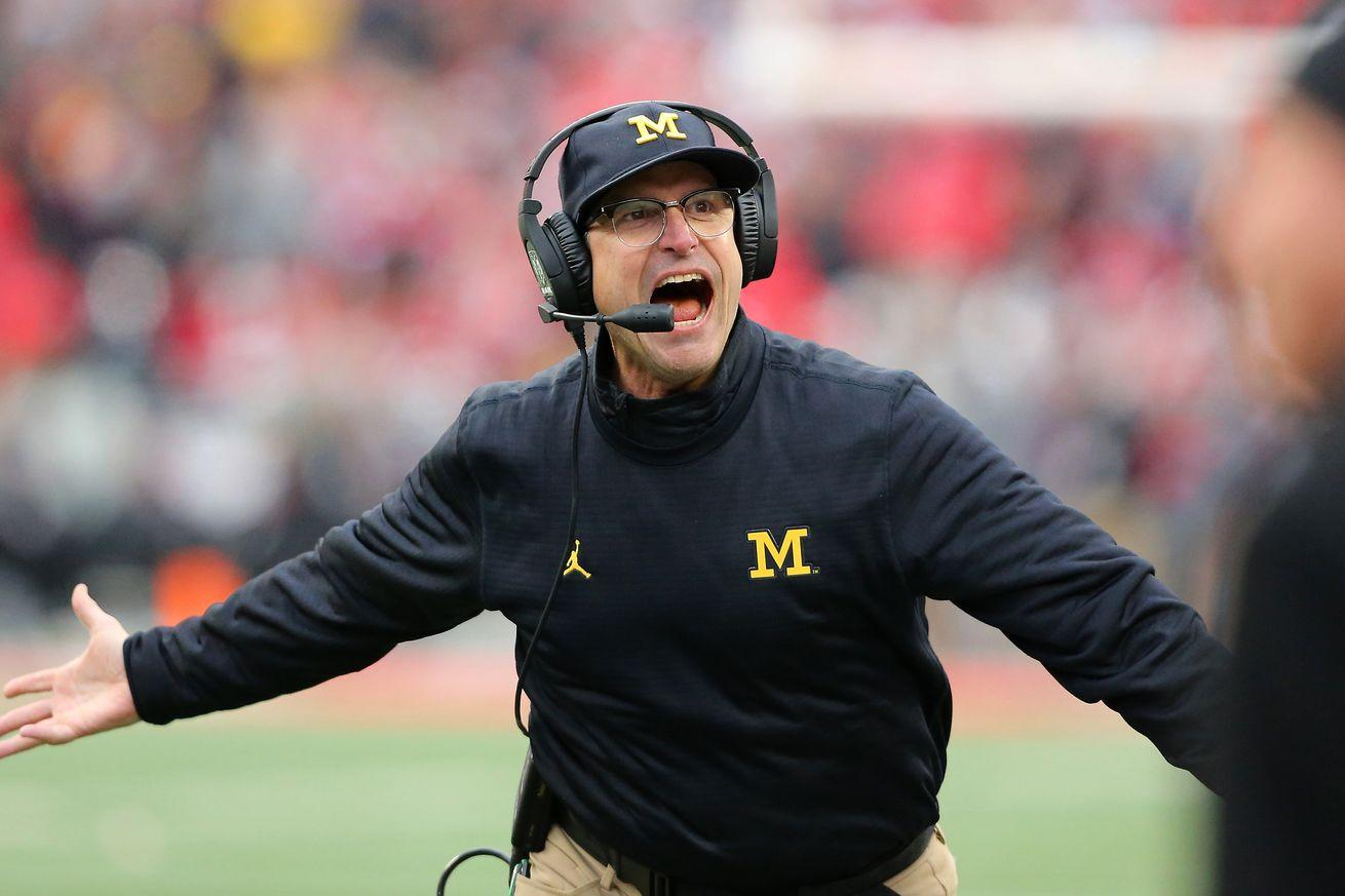 Michigan finished ranked behind a Penn State team it beat by 39 points, and that's fine