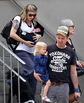 FIRST PIC: Meet Ethan Hawke's Baby Girl Indiana!