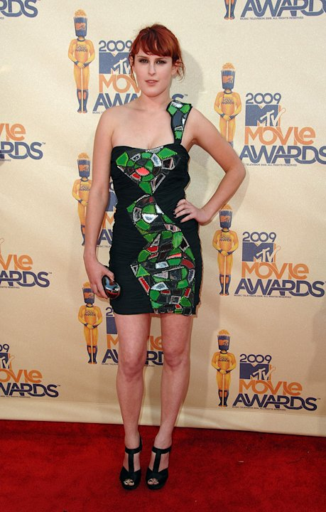 Report Card MTV Movie Awards 2009 Rumer Willis