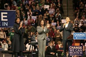 Why Did Oprah Ignore Michelle Obama's Speech?