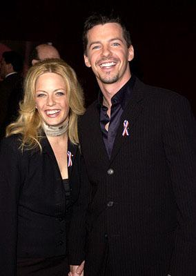 Sean Hayes and galpal 53rd Annual Emmy Awards - 11/4/2001