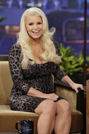 Jessica Simpson appears on 'The Tonight Show' on January 15, 2013 -- NBC