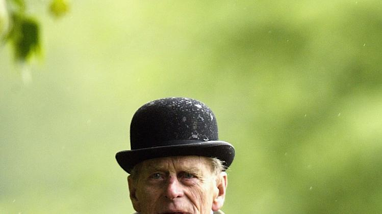FILE PHOTO:  Prince Philip, Duke of Edinburgh Turns 90 On June 10, 2011