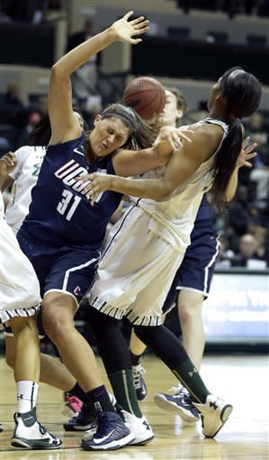 No. 3 Connecticut women roll past South Florida