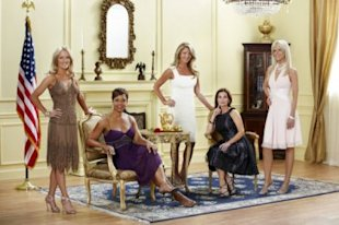 The Real Housewives of DC step into the ring (Photo via Bravo TV)
