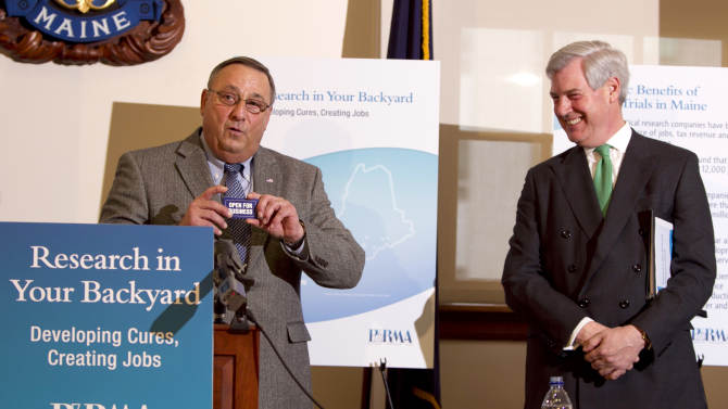 Maine clinical drug trials called lifesavers