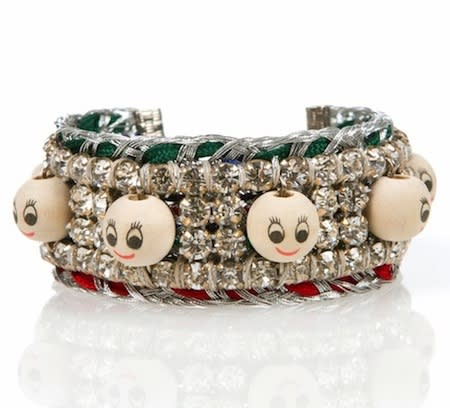 Talking Heads bracelet, $175, at Venessa Arizaga