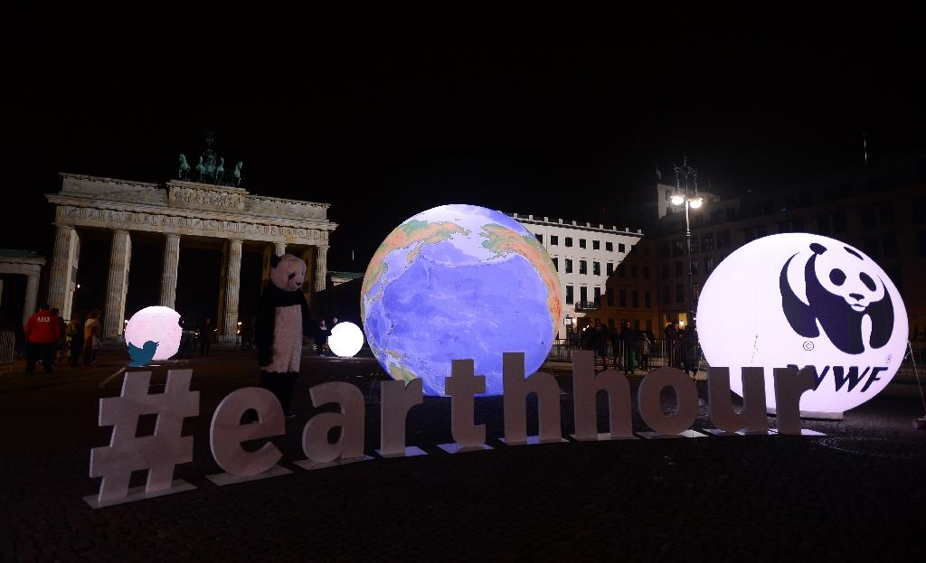 Lights out as world observes Earth Hour