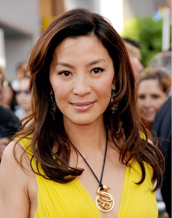 The Mummy Tomb of the Dragon Emperor Premiere 2008 Michelle Yeoh