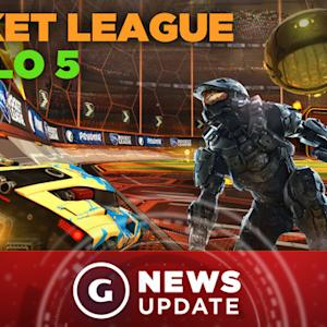 You Can Play Rocket League in Halo 5 - GS News Update