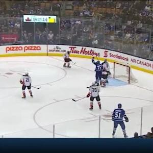 Joffrey Lupul Goal on Frederik Andersen (01:31/2nd)