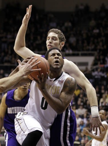 Purdue beats Northwestern 87-77