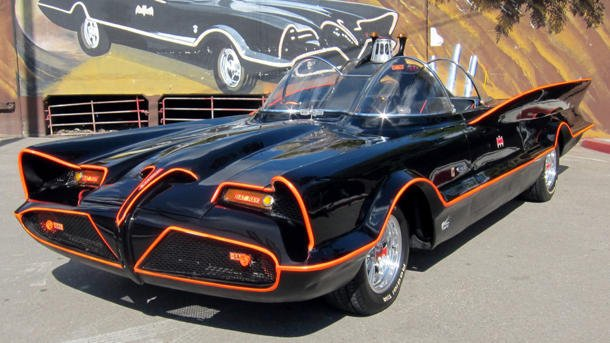 Original Batmobile George …