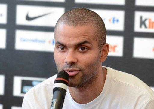 Tony Parker plays point guard for the San Antonio Spurs