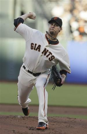 Vogelsong pitches Giants past Dodgers 2-0