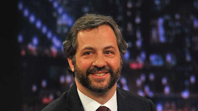 "Judd Apatow Visits ""Late Night With Jimmy Fallon"""