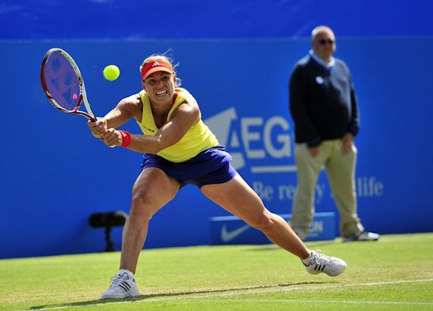 Angelique Kerber Of Germany Plays AFP/Getty Images