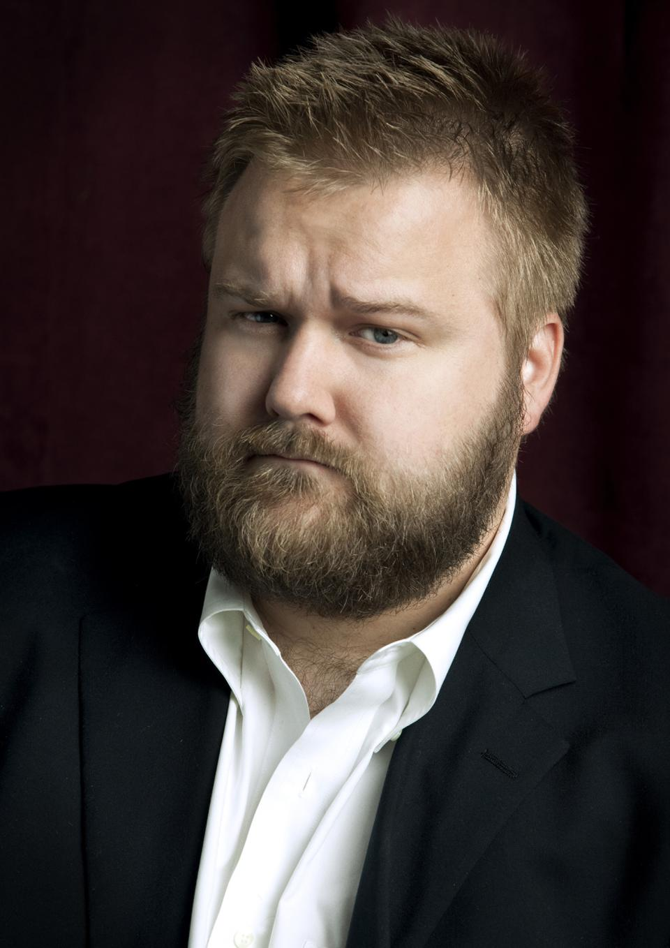 "FILE - This undated file photo provided by Feldman Public Relations shows Robert Kirkman, creator of the comic book ""The Walking Dead,"" and the AMC series of the same name. The show airs Sundays at 9 p.m. EST on AMC. (AP Photo/Feldman Public Relations, Megan Mack, File)"