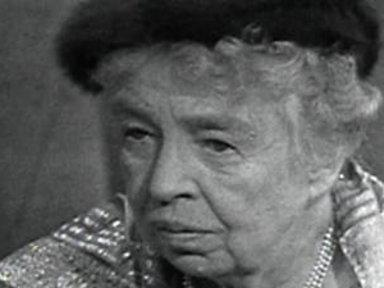 Eleanor Roosevelt Critiques Richard Nixon On Meet the Press