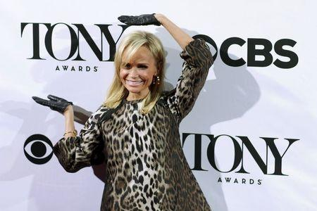 Actress Chenoweth attends the 2015 Tony Awards ' Meet the Nominees Press Junket' in New York