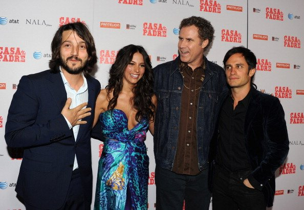 Diego Luna, Genesis Rodriguez, Will Ferrell y Gael Garc&#xed;a Bernal - Getty Images
