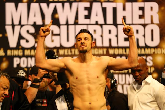 Floyd Mayweather Jr. v Robert Guerrero - Weigh-In