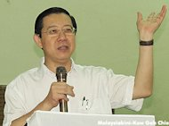 Guan Eng blasted for speedy award of road project tender