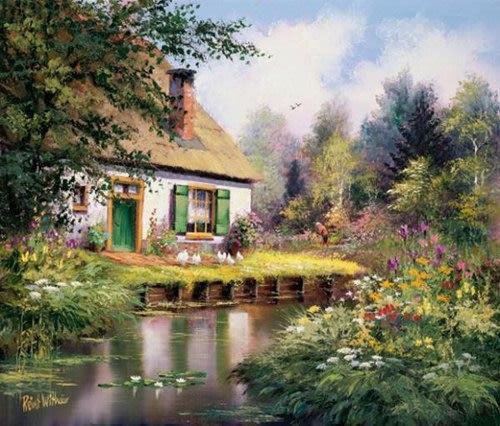Đồng quê yên bình trong tranh họa sĩ Hà Lan