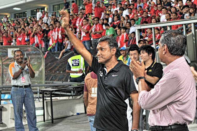 Sundram is one of the candidates to take the Singapore job. (FAS)