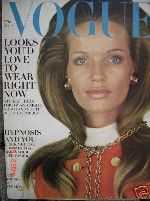 Another Vogue cover, this one in 1969