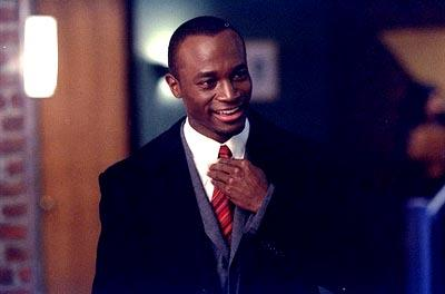 "Jackson Duper (guest star, Taye Diggs), the new lawyer at Cage/Fish & Associates, works on an unusual annulment case with Ling on the ""Reach Out And Touch"" episode of Ally McBeal Ally McBeal"