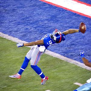 New York Giants react to Beckham catch