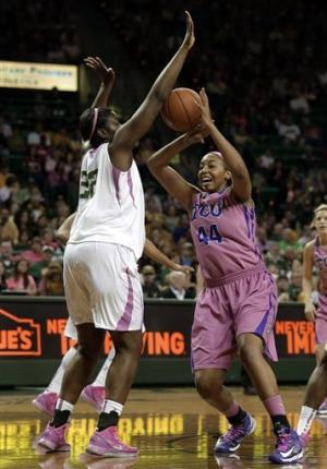 Efficient Griner, No. 1 Baylor women roll past TCU