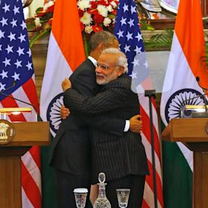 What Obama's Bro Hugs and Parade Visits in India Mean for the U.S.