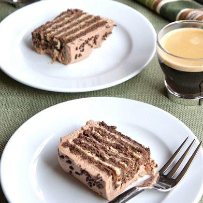 No-Bake Chocolate Peanut Butter Cake