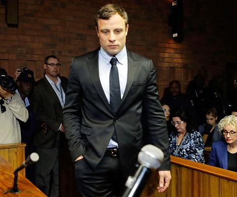 Oscar Pistorius Charged With Murder of Girlfriend Reeva Steenkamp, Trial Date Set