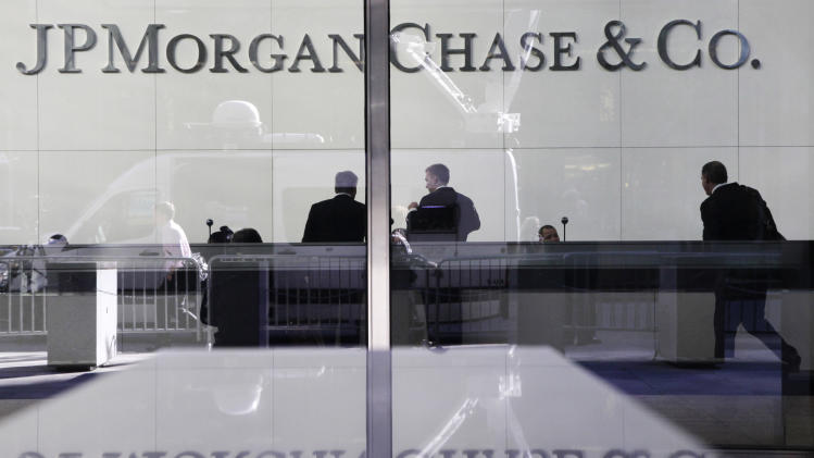 JPMorgan's first-quarter profit falls 20 percent